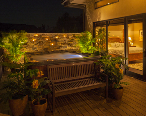 Sleep Benefits of Hot Tub Soaking