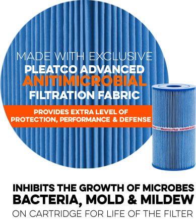 Pleatco Advanced AntiMicrobial Filtration Fabric