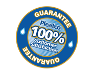 100 % Customer Satisfaction - Pleatco