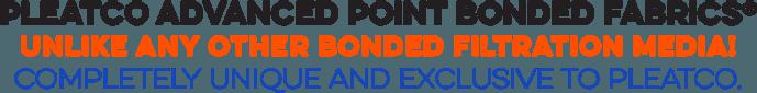 Pleatco Advanced Point Bonded Fabrics